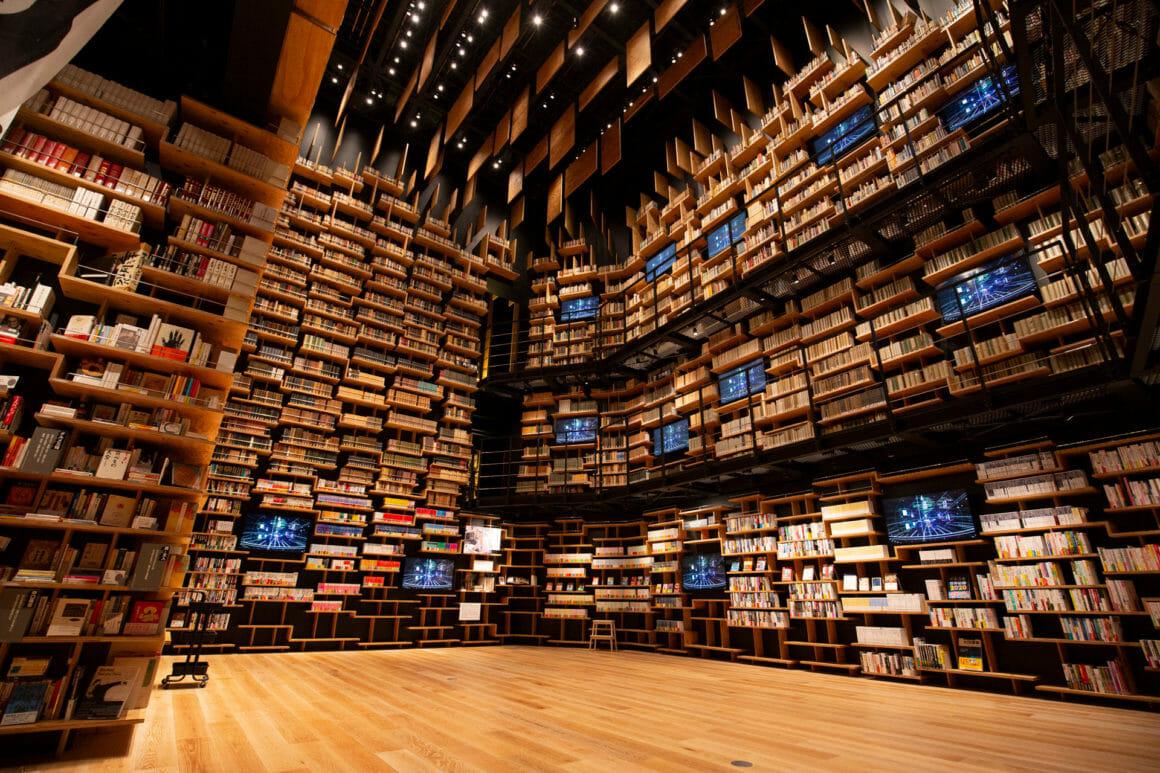โรงละครชั้นหนังสือ (Bookshelf Theatre) ไฮไลท์สำคัญของพิพิธภัณฑ์