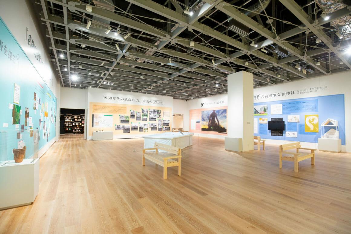 การจัดแสดงนิทรรศการ Musashino Gallery ©Kadokawa Culture Museum