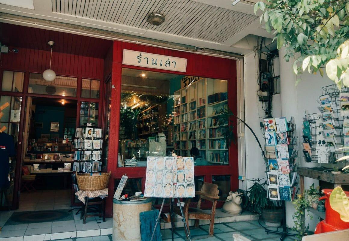 'ร้านเล่า' ร้านหนังสืออิสระเก่าแก่ของเชียงใหม่