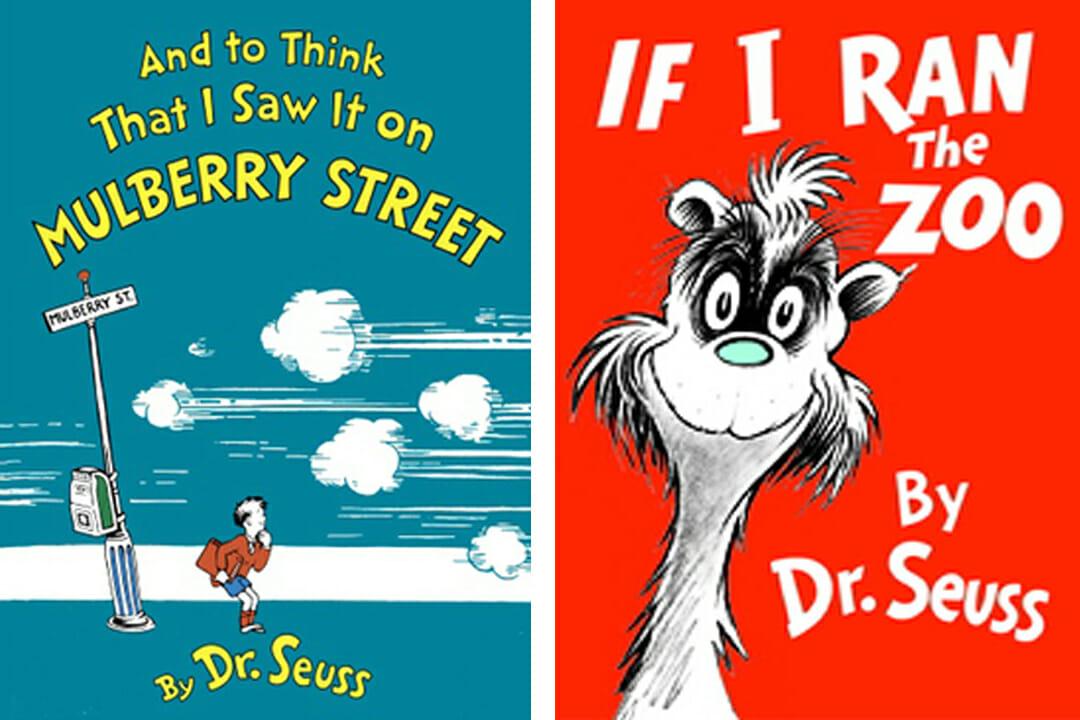 ตัวอย่างของหนังสือในชุด 'ดร.ซูสส์' (Dr.Seuss) ที่ถูกระงับการตีพิมพ์